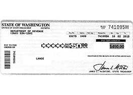 Receive Your Check in the Mail